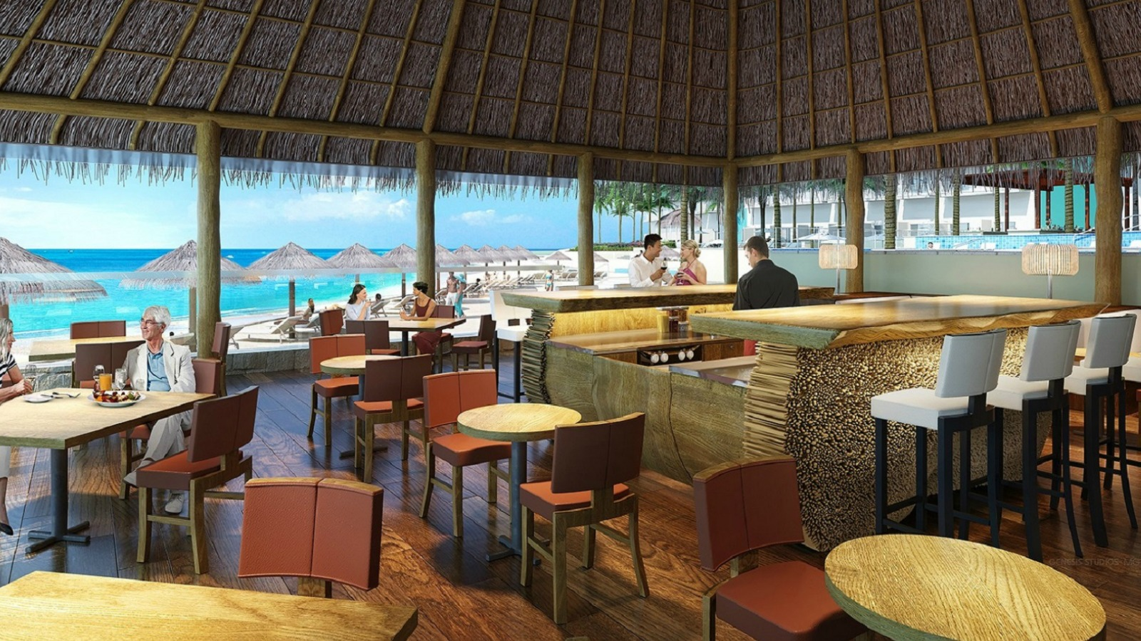 Sea & Stones Restaurant - Westin Cancun